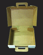 Die Cut Corrugated Handle Box